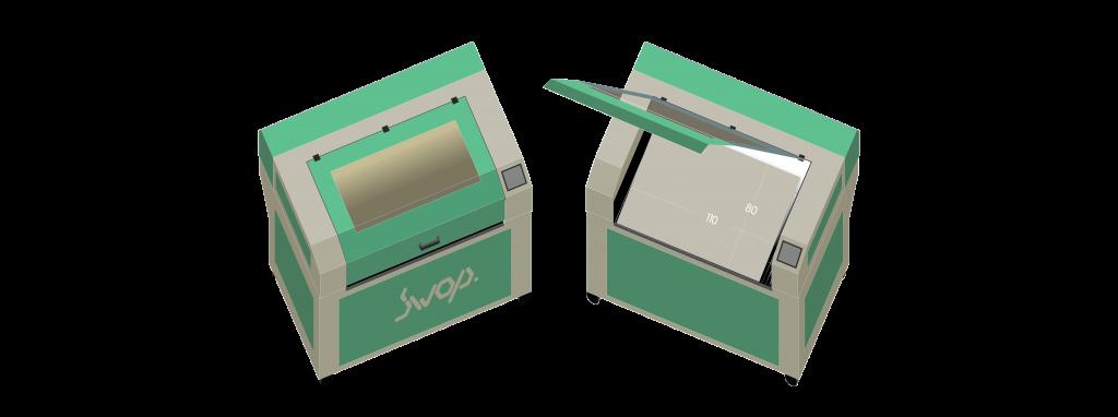 swop laser isometric